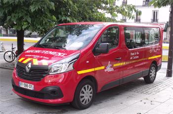 Véhicule de transport de personnel, Sapeurs-pompiers de Paris, Paris (75)