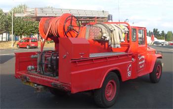 Camion-citerne pour feux de forêts léger, Sapeurs-pompiers, Loir-et-Cher (41)
